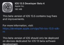 iOS 13.5 beta 4 released for developers - what's new