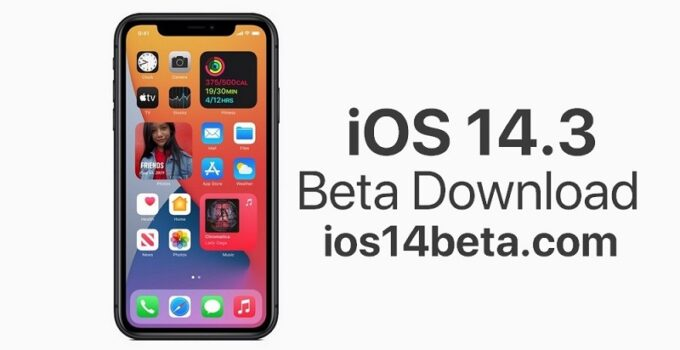 iOS 14.3 Beta Download