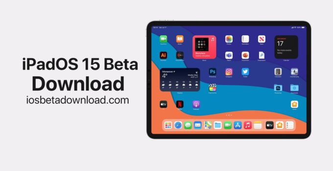 iPadOS 15 Beta Download
