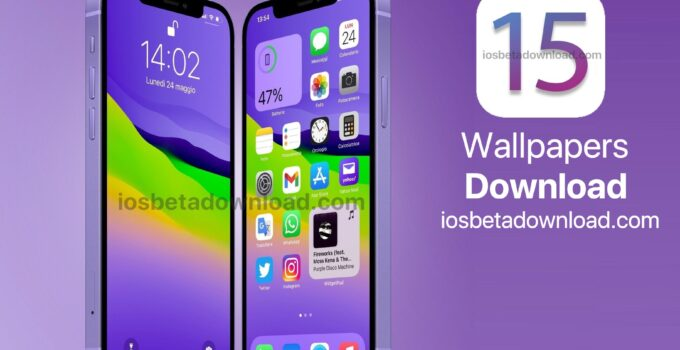 iOS 15 Wallpapers Download